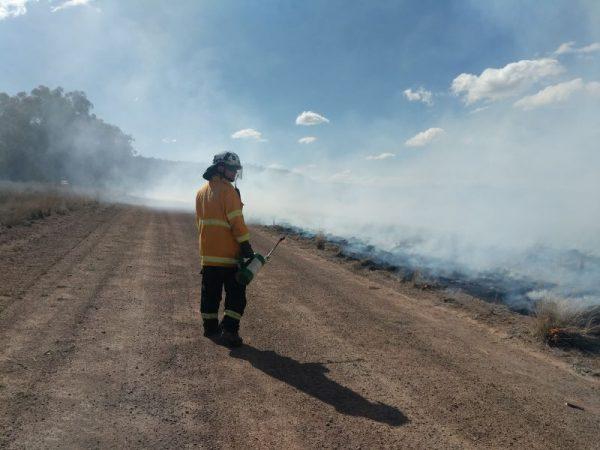 LRM Training Fire Mitigation